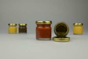 Paint Jars: Part of an exhibition to be displayed at Forum Cafe, Sheffield, from August 12th