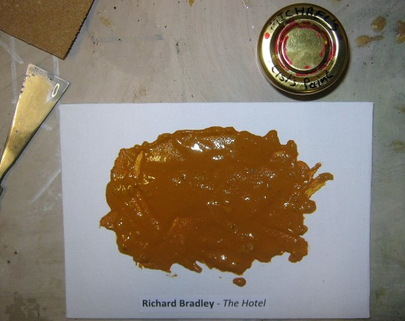 Paint made from Richard Bradley's idea.